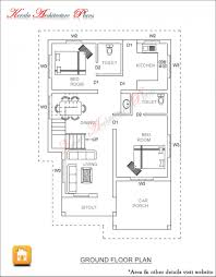 3 bed room 1500 square feet house plan architecture kerala bedroom
