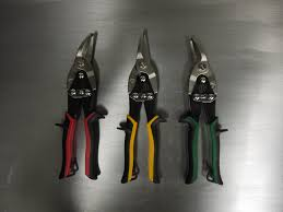 Stamp On Right Or Left How To Choose The Correct Snips When You U0027re Cutting Curves In Metal