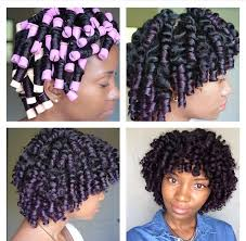 black hairstyles without heat chronicurls great way to set your hair without heat hairstyle
