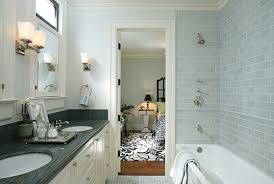 Subway Tile Bathroom Designs Perfect Modern Subway Tile Bathroom - Modern subway tile bathroom designs