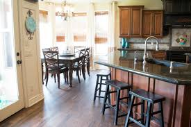 remodelaholic remodeled kitchen with refinished hardwood floors