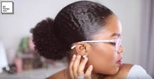 hair puff low puff and hair tutorial from vlogger mini marley