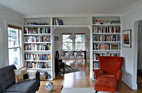 Crown Molding Bookshelf Modern Living Room With Crown Molding By Sara Eizen Zillow Digs