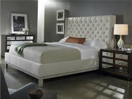bedroom interesting white and grey decoration using regarding
