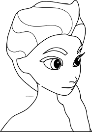 elsa frozen coloring pages coloringsuite