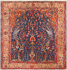 antique bakhtiari tree of rug 48004 nazmiyal rugs