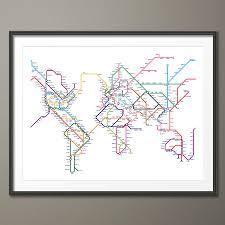Singapore Metro Map by Subway Tube Metro World Map Art Print By Artpause