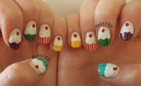 nail arts for short nails nail art designs