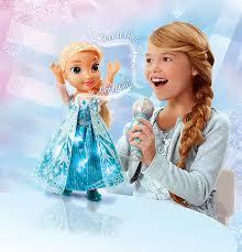 amazon disney frozen sing long elsa doll toys u0026 games