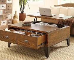 solid wood coffee table with lift top coffee tables ideas interior decorations coffee table with storage