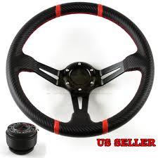 mazda steering wheel for 92 96 mazda 323 deep dish red trim cf grip steering wheel