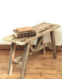 Rustic Log Benches - images barnood outdoor furniture relaxed back reclaimed barn wood