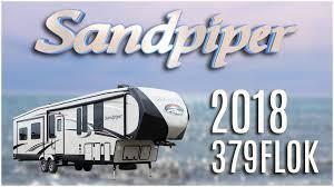 Sandpiper Rv Floor Plans by 2018 Forest River Sandpiper 379flok Model