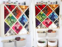 Home Decor Storage Ideas Home Decor Yarn Storage System Repeat Crafter Me