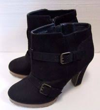 womens black ankle boots size 11 mossimo s size 11 ankle boots ebay
