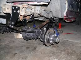 97 Ford Diesel Truck - a home brew junkyard shackle reverse for 97 f350 ford