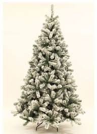 frosted or flocked trees 9 foot artificial