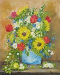 The Blue Vase Bouquets U2014 Marilyn Luzzio Bridon