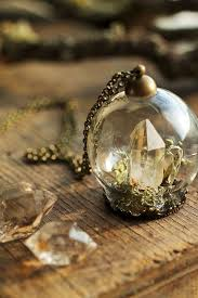 crystal glass pendant necklace images 69 best terrarium glass dome pendant necklaces rings images on jpg