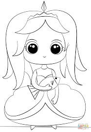 princess with fish coloring page free printable coloring pages