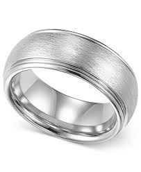 mens comfort fit wedding bands triton mens tungsten ring 8mm white tungsten comfort fit wedding