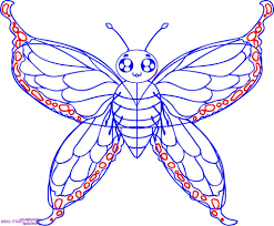butterfly drawing designs drawing art gallery