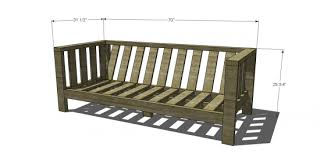 2x4 Outdoor Furniture by Free Diy Furniture Plans To Build A Crate U0026 Barrel Inspired Reef