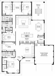 house plans with media room floor plan garage entrance dining open to veranda