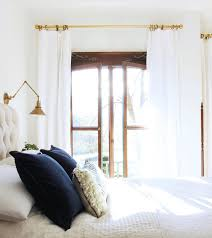 white bedroom curtains the best white curtains hint they are long and inexpensive