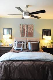elegant bedroom ceiling fans on home design styles interior ideas