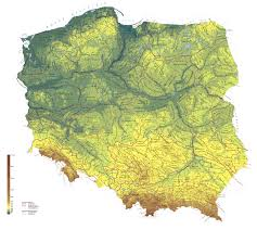 Physical Map Of Europe by Large Detailed Physical Map Of Poland Poland Europe Mapsland