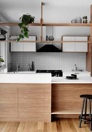modern all wood kitchen cabinets 15 trendy looking modern wood kitchens shelterness