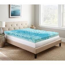 furniture lane in king gellux gel memory foam mattress topper