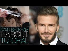 mens haircuts step by step david beckham haircut tutorial mens disconnected undercut