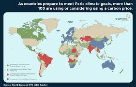 Maps Around The World by 40 Countries Are Making Polluters Pay For Carbon Pollution Guess