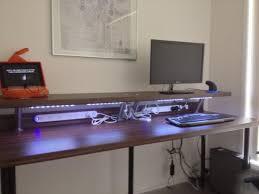 bureau plan de travail ikea bureau avec tablette trop pratique bidouilles ikea