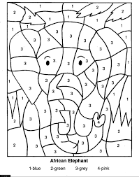 28 number coded coloring pages coloring pages color coded to