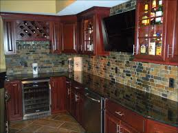 kitchen fake white brick wall interior faux stone kitchen