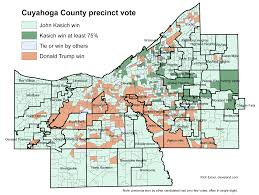 Lakewood Ohio Map by Did Your Neighborhood Vote For John Kasich Or Donald Trump See