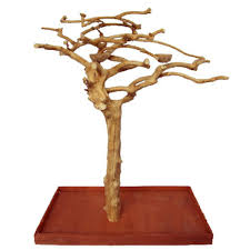 java wood parrot play stand tree by ae small birds 200s