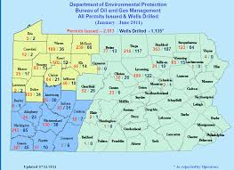 State Map Of Pennsylvania by Permitdrilledmaps