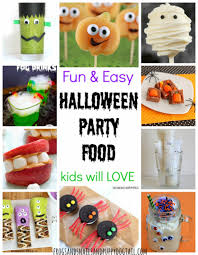 fun and easy halloween party food fspdt