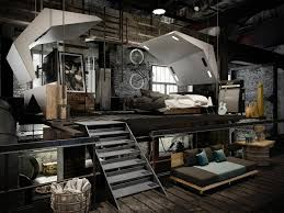 extraordinary industrial loft by manuel fuentes d artist