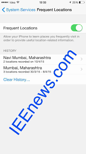 How To Delete Maps History How To Access Location History On Iphone With Pictures Ieenews