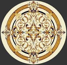 water jet table for sale chinese stone water jet marble medallions stone waterjet medallion