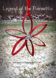 the legend of the poinsettia mexico craft mommymaleta