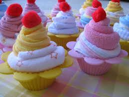 cupcake wonderful towel cake directions how to make baby towel