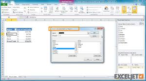 vlookups and pivot tables excel tutorial how to add a calculated item to a pivot table