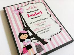 eiffel tower invitations party invitations with eiffel tower