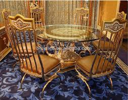 european dining room furniture luxury french baroque style dining room sets antique golden brass